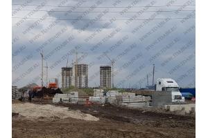 Строительство нового жилого района на Федюнинского